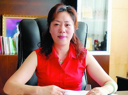 千足珍珠集团股份有限公司董事长陈夏英